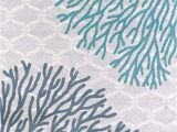 Blue and Coral area Rug United Weavers area Rugs Modern Textures Rugs 595