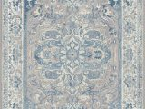 Blue and Cream oriental Rug Tayserugs Ambiance Blue area Rug