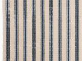 Blue and Cream Striped Rug Blue and Cream Striped Rug