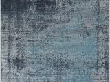 Blue and Gray Abstract Rug Mod Arte Mirage Collection area Rug Modern Contemporary Style Abstract soft Plush Navy Blue Gray 710×102