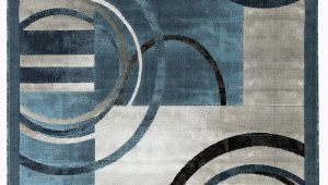 Blue and Gray Abstract Rug Newport Collection Blue Gray Abstract Modern area Rug Walmart Com