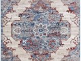 Blue and Gray area Rugs 9×12 Luxe Weavers Magnolia oriental Blue 9×12 area Rug