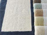 "Blue and Gray Bath Rug Amazon 23"" X 39"" Tuscany Bath Rug Blue Kitchen & Dining"