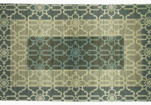 Blue and Gray Bathroom Rugs Elegant Dimensions Large Wallace Blue and Gray Bath Rug