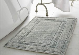 Blue and Gray Bathroom Rugs Jean Pierre Stonewash Racetrack 21 In X 34 In Cotton