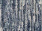 Blue and Gray Shag Rug Samella Abstract Blue Gray area Rug