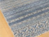 Blue and Gray Striped Rug Blue & Grey Striped Rug 8×10 – the Artisan S Bench