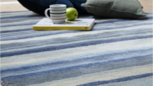 Blue and Gray Striped Rug Review Ultimate Stripe 01 Blue Grey Wool Rug by