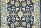 Blue and Green oriental Rugs oriental Weavers Alfresco Navy Blue area Rug