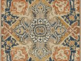 Blue and Rust Rug Loloi Zharah Zr 10 Rust Blue area Rug
