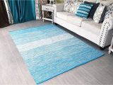 Blue and White area Rugs 5×7 5×7 area Rug Turquoise Blue White for Living Room
