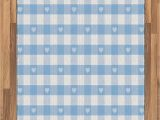 Blue and White Check Rug Amazon Ambesonne Checkered area Rug Gingham Motif with