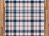 Blue and White Check Rug Amazon Ambesonne Plaid area Rug Traditional Checkered