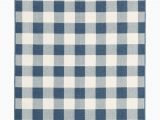 Blue and White Check Rug Avalon Home Mackinaw Gingham Check Indoor Outdoor area Rug Walmart
