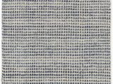 Blue and White Check Rug Homer Checkered Hand Knotted Blue area Rug
