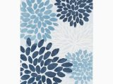 Blue and White Floral Rug Blue & White Floral Rug Zulily