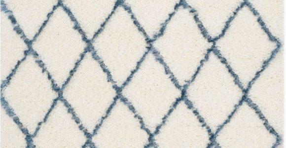 Blue and White Moroccan Rug Cheap Moroccan Rugs Blue Diamond Shag Rug
