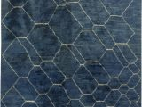 Blue and White Moroccan Rug Moroccan Rug N by Dlb
