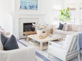 Blue and White Rug Living Room 39 Coastal Living Rooms to Inspire You