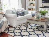 Blue and White Rug Living Room Blue & White In the Living Room A Rug Pad Giveaway
