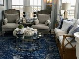 Blue and White Rug Living Room Blue and White Sunroom
