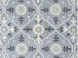 Blue and White Wool Rug Rizzy Home Valintino Collection Wool area Rug 5 X 8 Gray Navy Blue Tan Gray F White ornamental