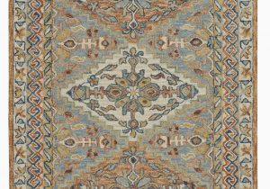Blue area Rugs 10×14 Floral Sheraden Tufted 10 X 14 Wool Gray Beige Blue area Rug