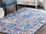 Blue area Rugs for Sale Shop Nuloom Light Blue Traditional Fading Bloom area Rug