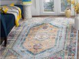Blue area Rugs for Sale Shop Safavieh Bristol Bohemian Blue Camel Polyester area