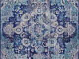 Blue area Rugs Near Me Blue Distressed Rug oriental Vintage Carpet