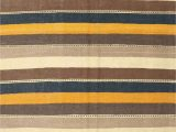 Blue Brown Rug Contemporary Contemporary Yellow Blue Brown area Rug