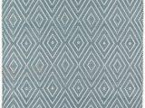 Blue Diamond Pattern Rug Diamond Geometric Hand Knotted Light Blue Indoor Outdoor area Rug