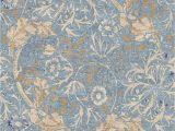Blue Gold area Rug Mafi Signature 16 Traditional