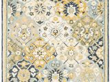 Blue Gold area Rug oriental Weavers Alfresco Blue Gold area Rug
