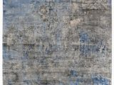 Blue Gray and Beige area Rug Exquisite Rugs Koda Hand Woven 3394 Blue Gray area Rug