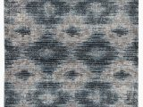 Blue Gray and Brown area Rug Gillenwater Geometric Blue Gray area Rug