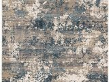 Blue Gray and Tan area Rug Aireloom Air02