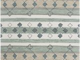 Blue Gray and Tan area Rug Rizzy Home Resonant Collection Wool area Rug 10 X 13 Gray Ivory Tan Blue Gray Sage Green Dark Green Tribal Motif