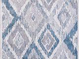 Blue Gray Cream area Rug Dynamic Rugs Mosaic 1669 115 Cream Grey Blue area Rug