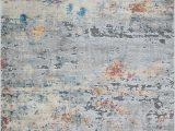 Blue Gray Cream area Rug Louisburg Abstract soft and Plush Gray Cream Blue area Rug