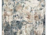 Blue Gray Cream area Rug Sisario Abstract Blue & Gray area Rug