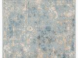 Blue Gray Gold Rug Ciq13 Cirque Dreslyn Blue Gold 10 X14 Rect Rug