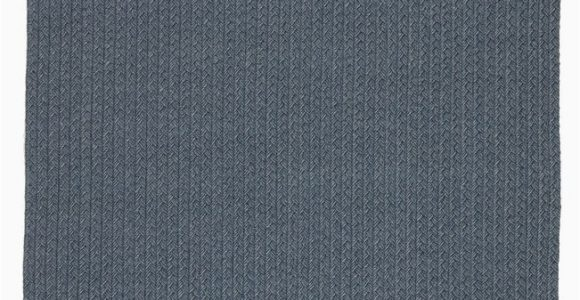 "Blue Gray Outdoor Rug Iver Indoor Outdoor solid Blue Gray area Rug 8 10""x11 9"