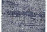 Blue Gray Outdoor Rug Rubinstein Abstract Blue Gray Indoor Outdoor area Rug