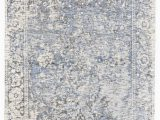 Blue Gray White area Rugs Feizy Reagan 8687f Gray Blue area Rug