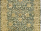 Blue Green Brown area Rugs Amazon Safavieh Oushak Collection Osh117a Hand Knotted