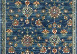 Blue Green oriental Rug Tulsa Arya Vintage oriental Blue Green area Rug