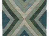 Blue Green Wool Rug K0000918 Blue Green New Turkish Kilim Rug the source for