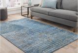 Blue Grey area Rugs 8×10 Shop Catao Handmade Abstract Blue Grey area Rug 8 X 10