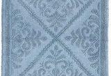 Blue Grey Bath Rug Amazon Com Home Weavers Jacquard Collection Bath Rugs 24